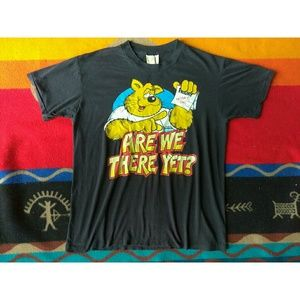 Are We There Yet Bear Graphic Tee